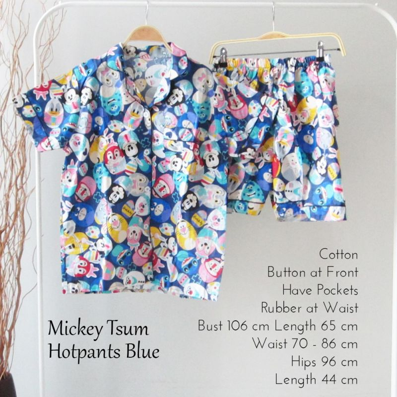 Mickey Tsum Hotpants Blue